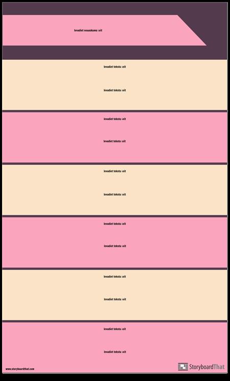 Bloķēt Sadaļu Infografikas Veidni