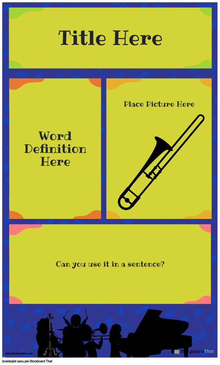Definīcijas Plakāts 2