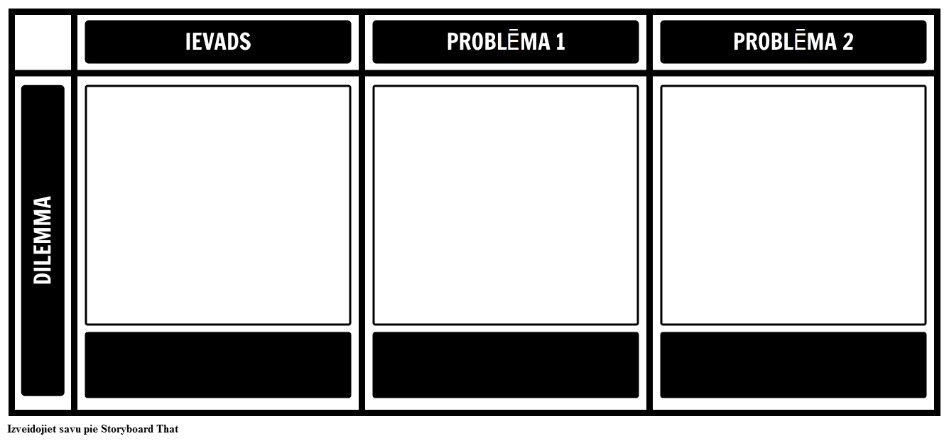 Dilemma Template Grid