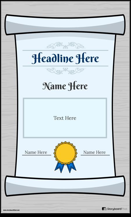Diploma Plakāts 1