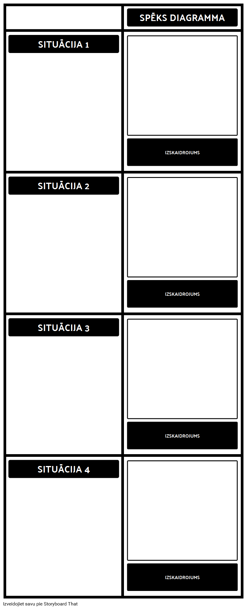Force Diagramma Template