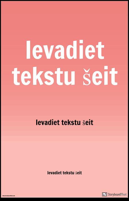 PSA Plakāts