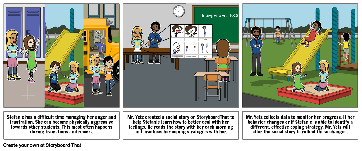 Social Stories - Individual Instruction