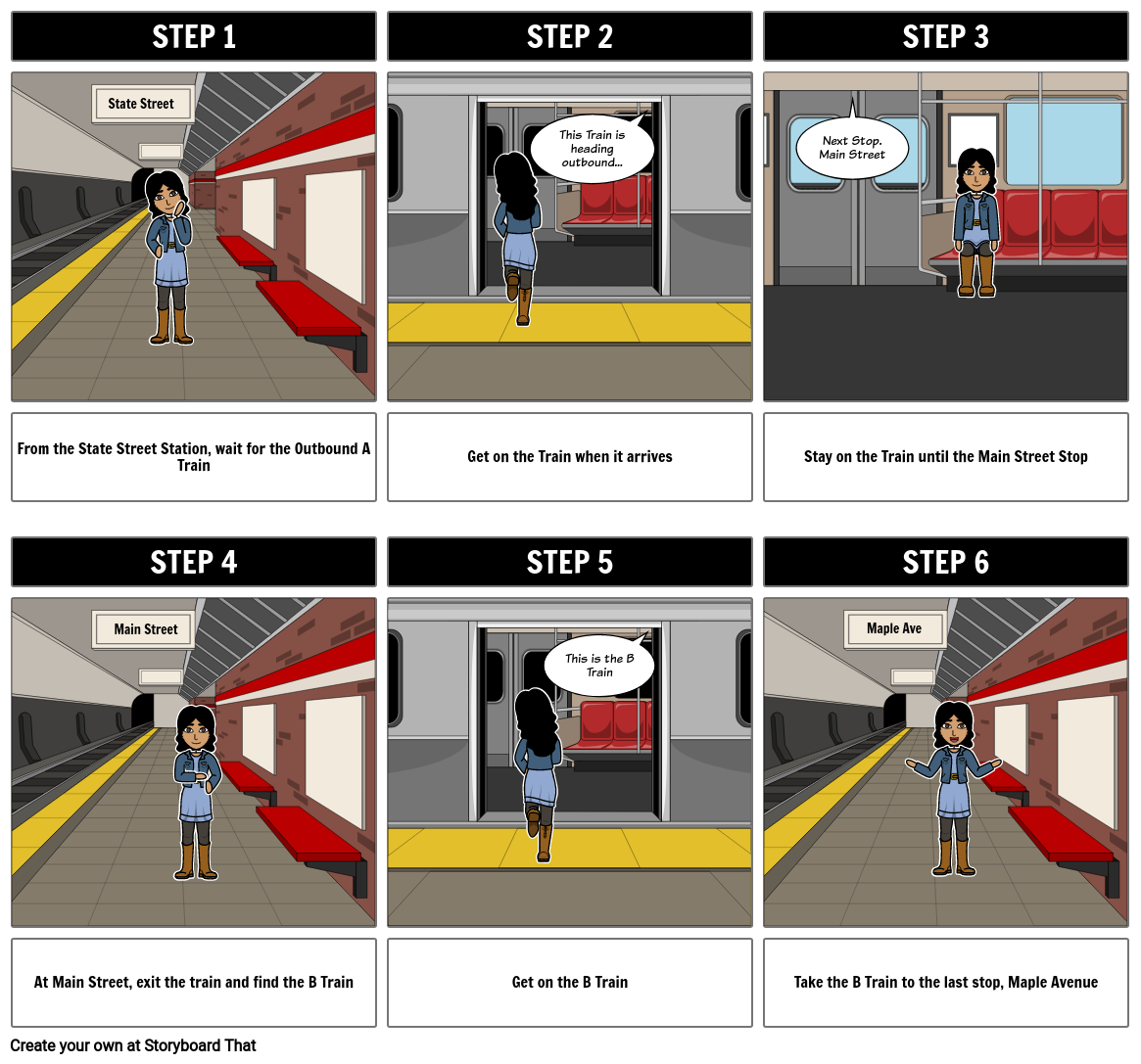 How To Boards - Public Transportation