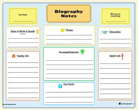 Biografieplanner 2