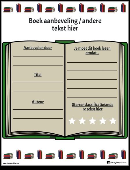 Boek Aanbeveling 3