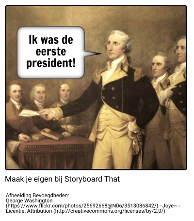 George Washington Voorbeeld