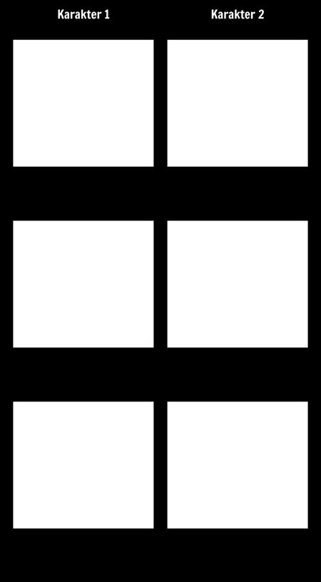 Karakter Vergelijking - T-Chart