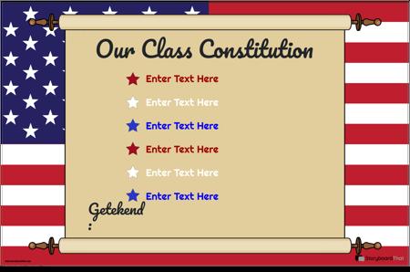 Klasse Grondwet 5