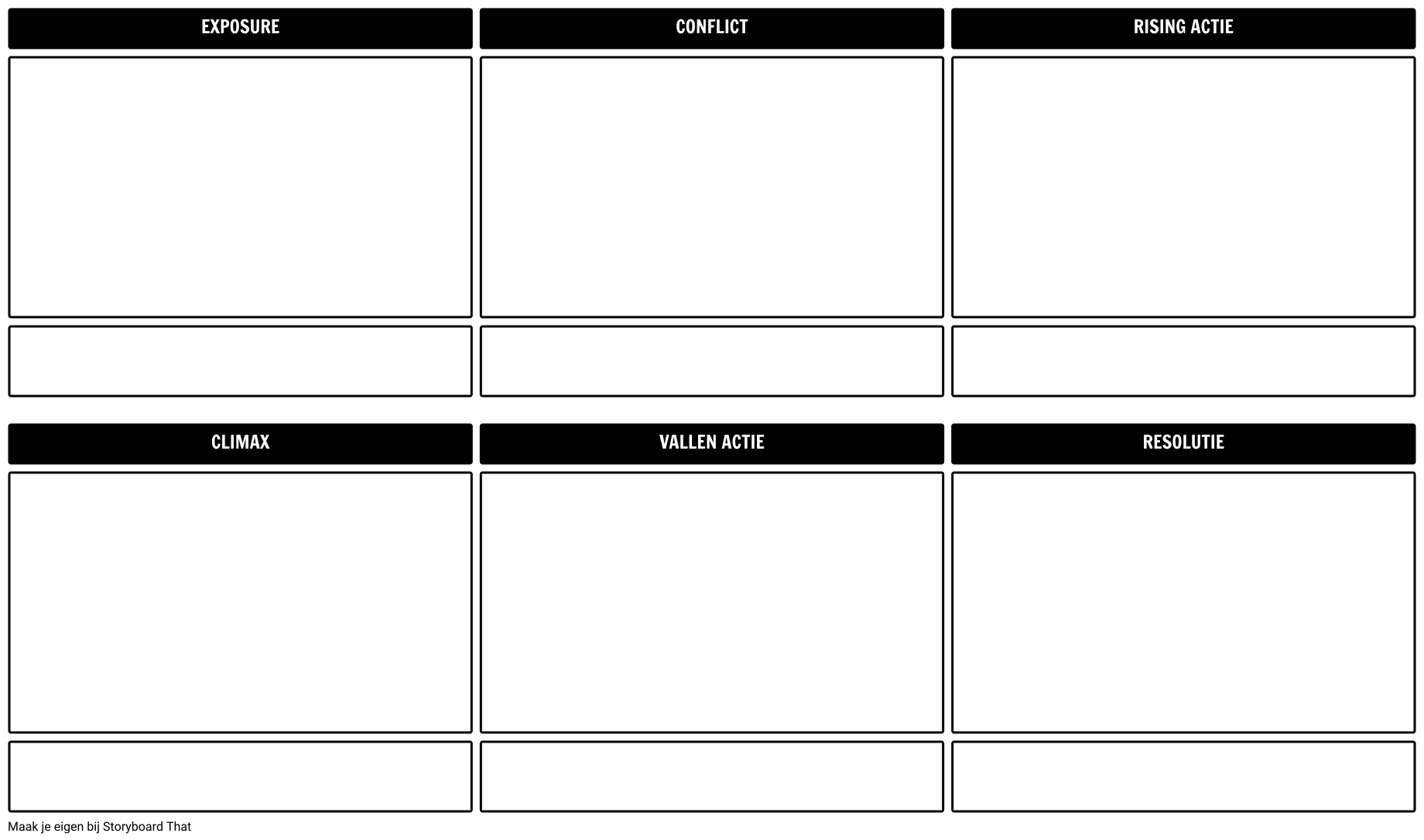 Plot Diagram Template 16x9