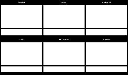 Plot Diagram Template 16x9