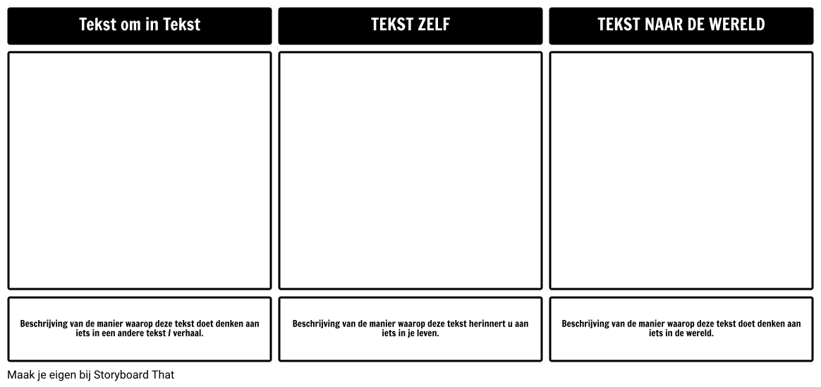 Tekst Connections Template