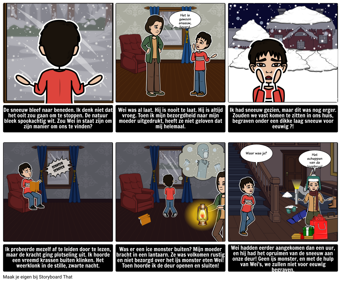 Winter Holiday - Story