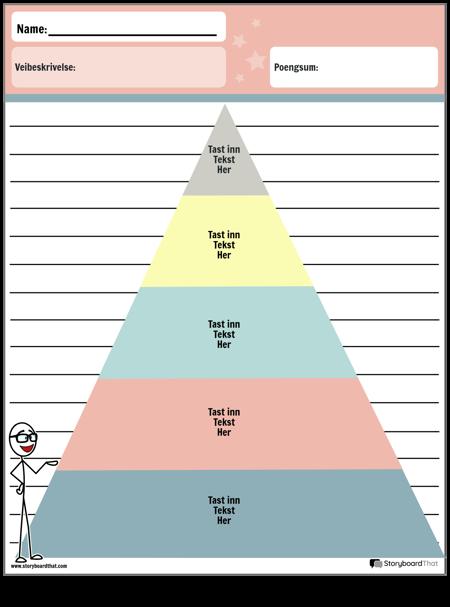 Grafisk Arrangørpyramide