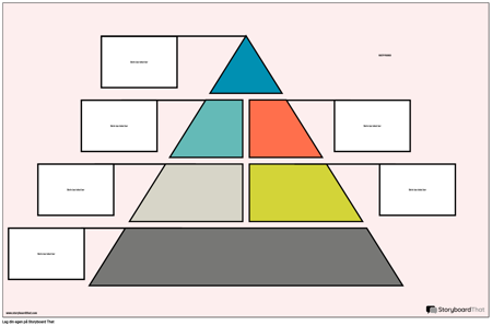Matpyramide Plakat