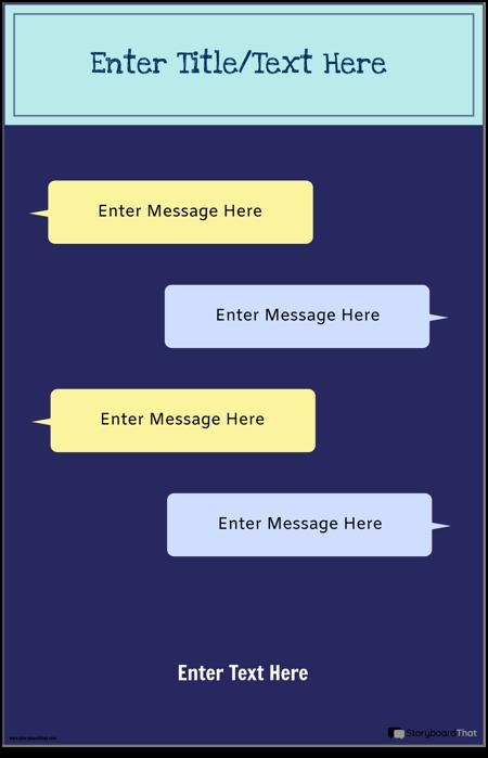 Tekstmelding til PSA -mal