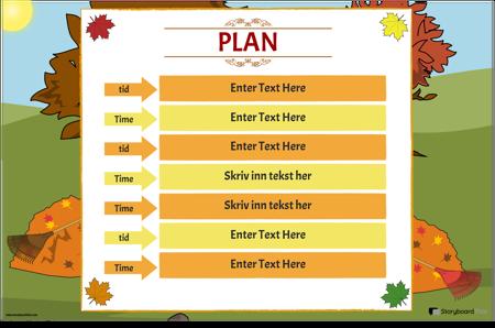 Timeplan 4