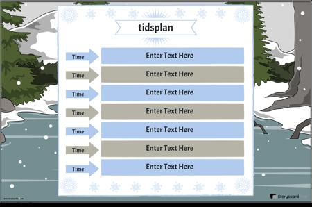 Timeplan 5