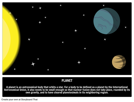 Learning About Space Words | Astronomy Picture Encyclopedia