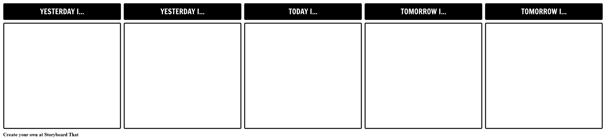Positive Decisions Template