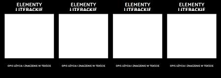 Elementy Literackie T-Chart