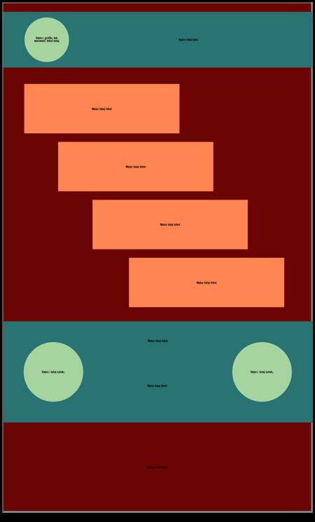 Krok Pusty Szablon Infografiki