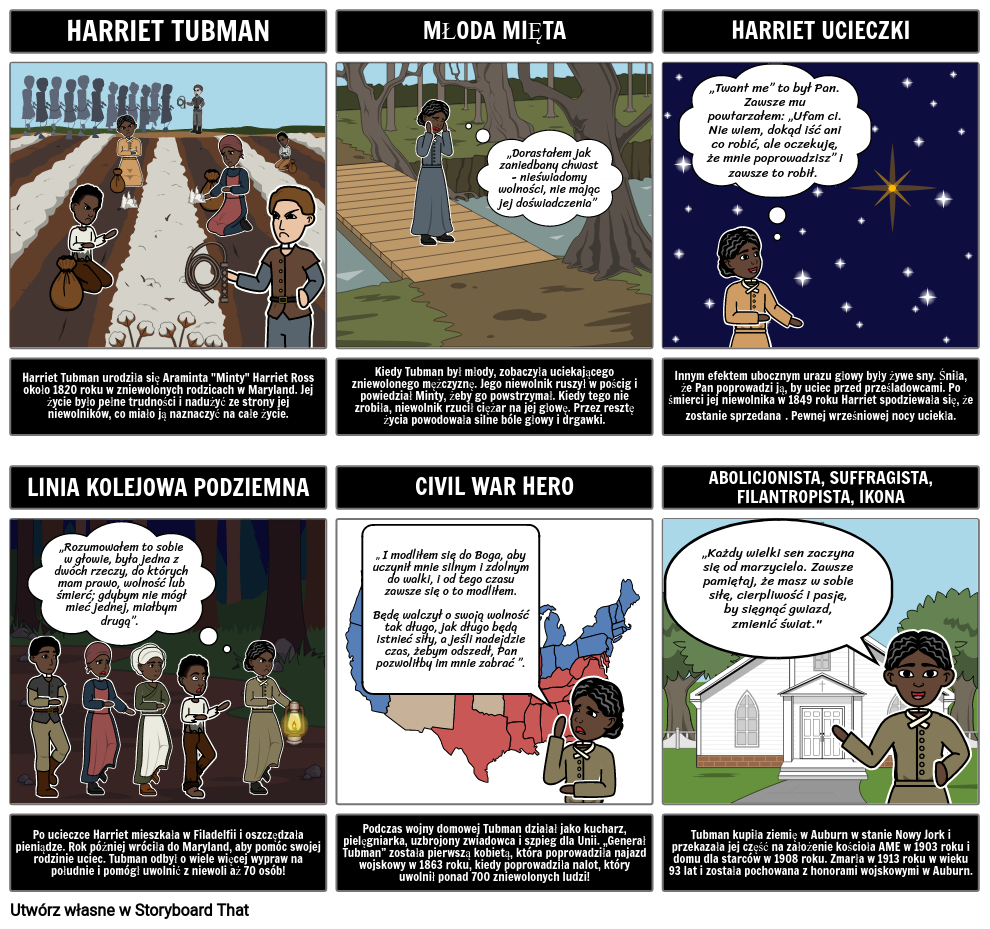 Niewolnictwo: Harriet Tubman