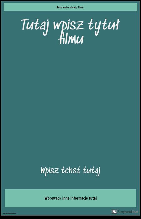 Plakat Filmowy 3