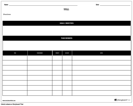 Planista — Według Projektu