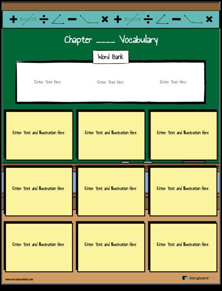 Słownictwo matematyczne 7
