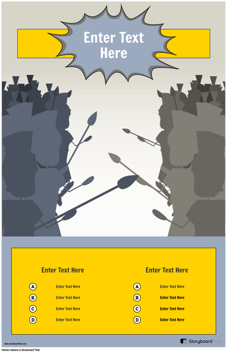 Szablon Infografiki Bitwy