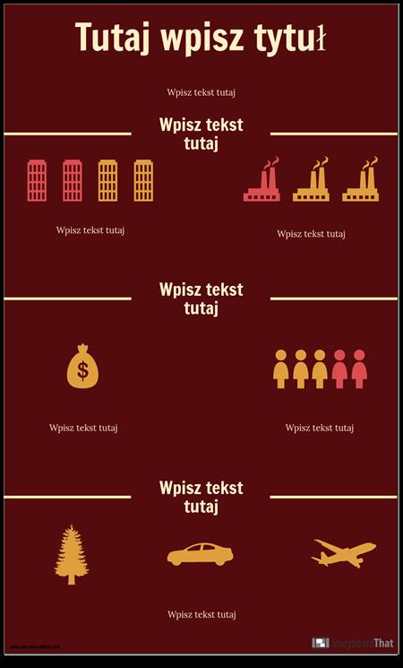 Szablon Infografiki Nauki
