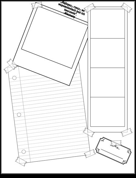 Szablon notatnika 3-5