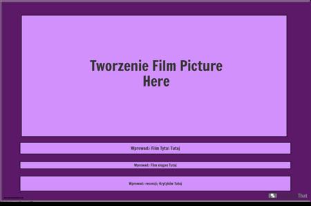 Szablon Plakatu Filmowego, Krajobraz