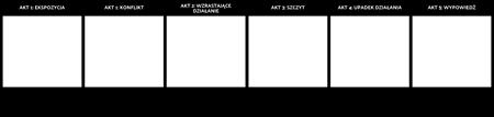 Szablon Struktury Pięciu akt