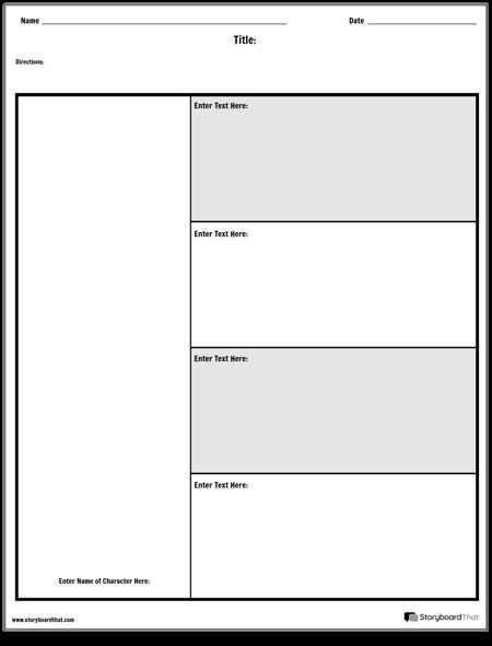 Tabela Postaci - 4 Pytania