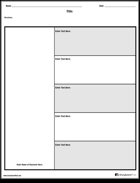 Tabela Postaci - 5 Pytań