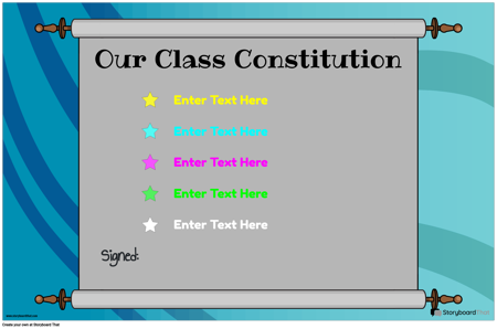 Class Constitution 8