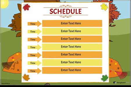 Class Schedule 4