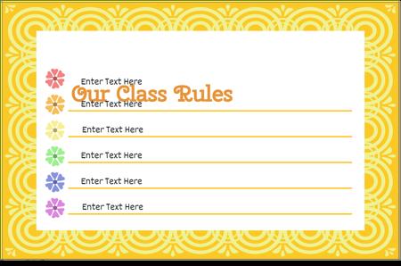 Classroom Rules 14