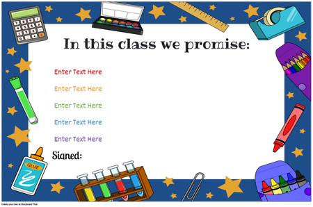 Classroom Rules 17
