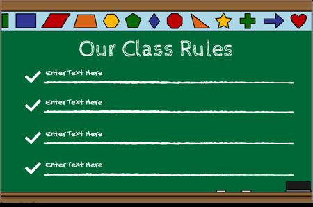 Classroom Rules 22