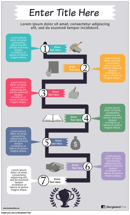 Flow Chart Infographic 3