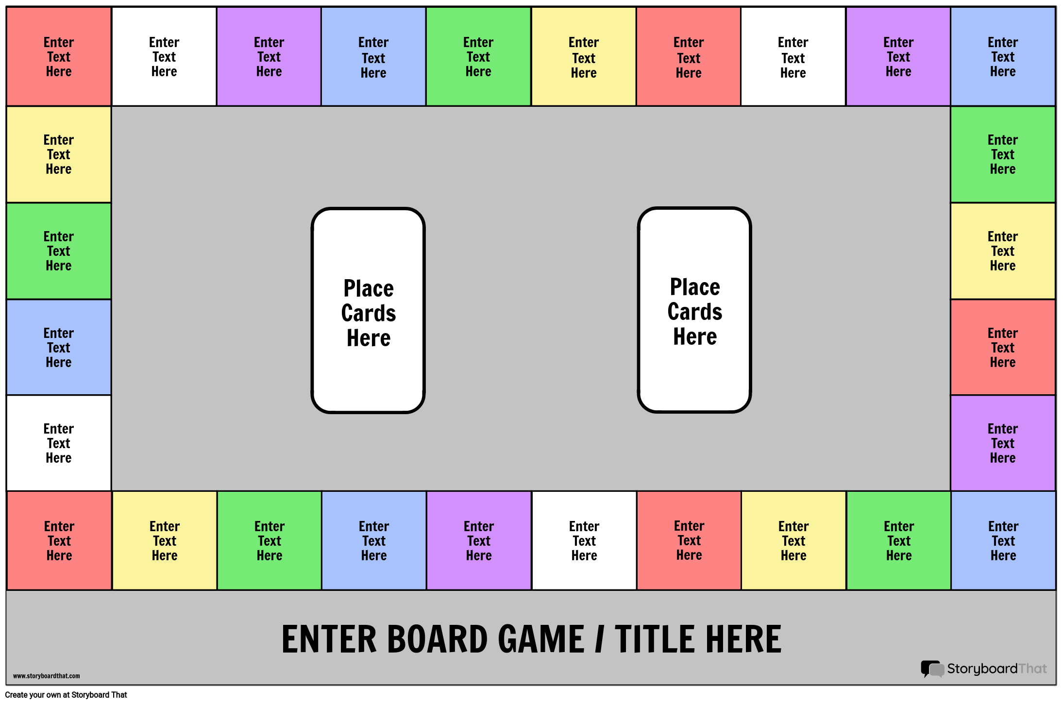 Rectangle Board Game