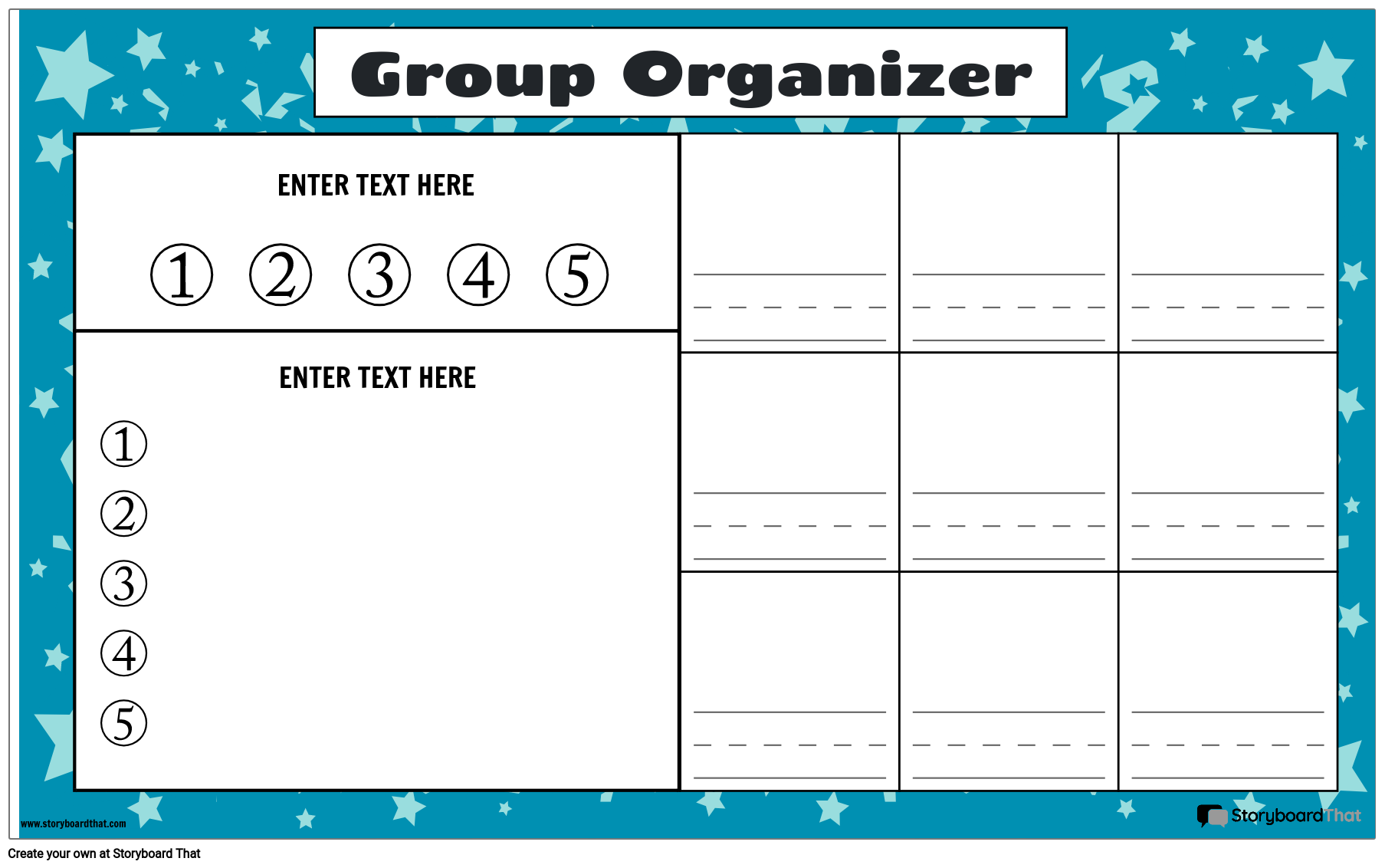 Group Work Organizer