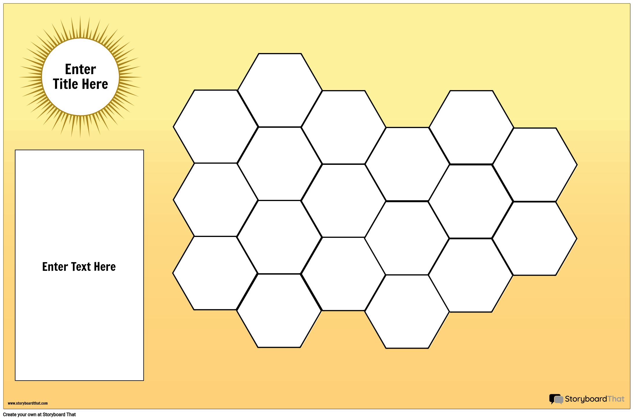 Hexagon Game Board