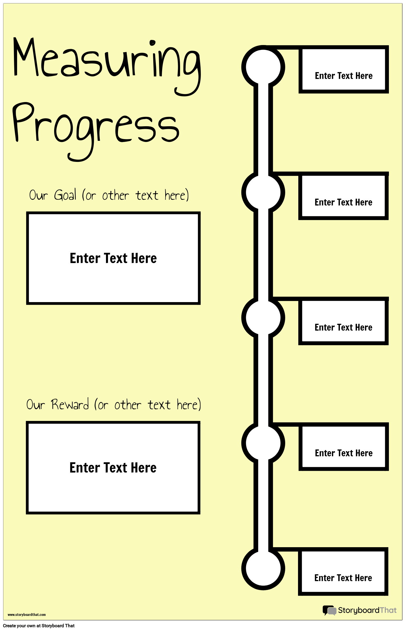 Measuring Progress Poster