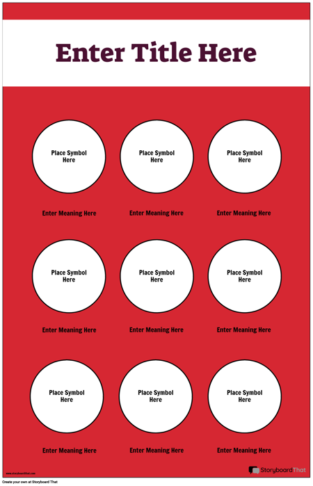 Safety Symbols Poster