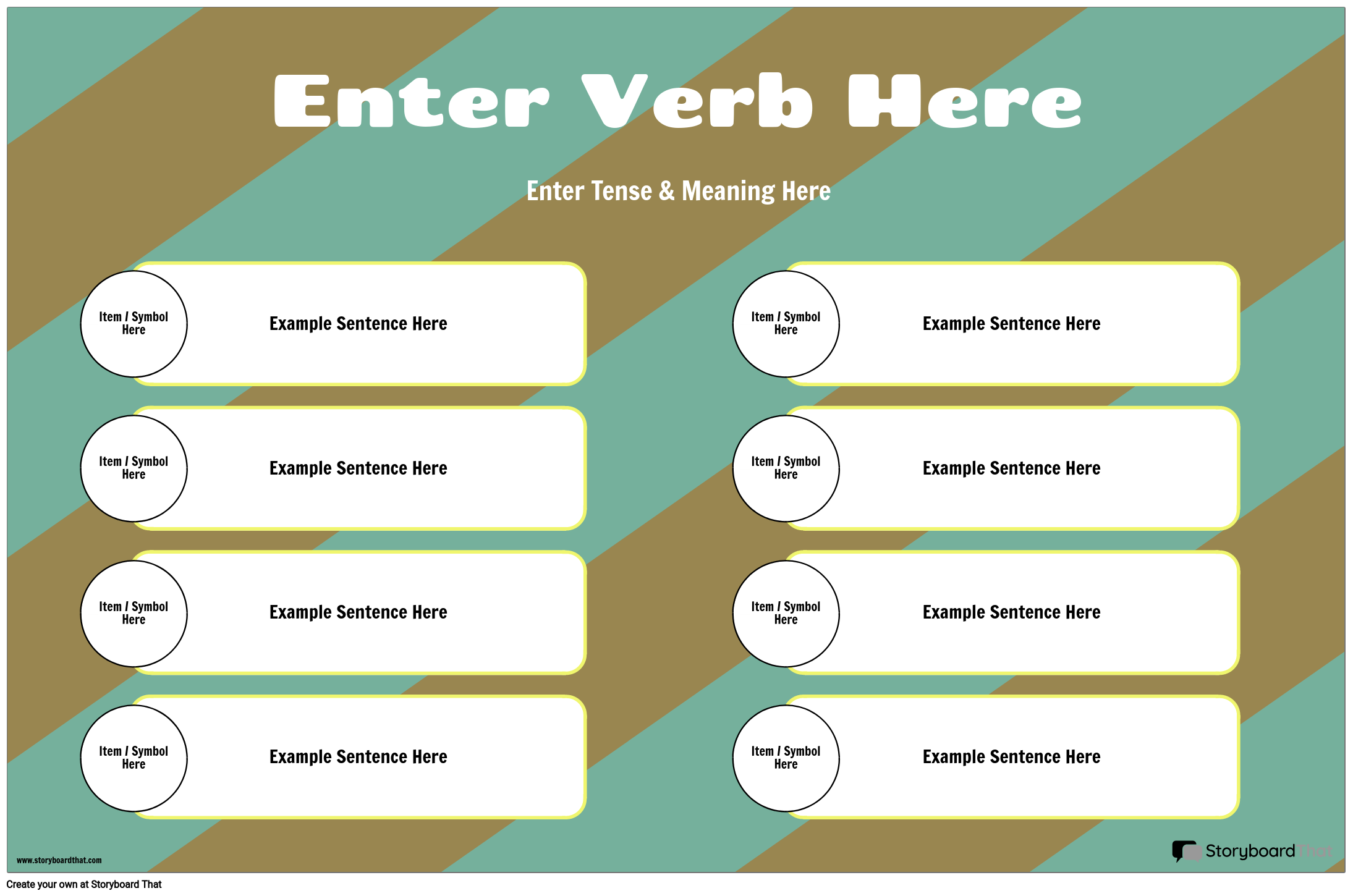 Verb Conjugation With Sentences