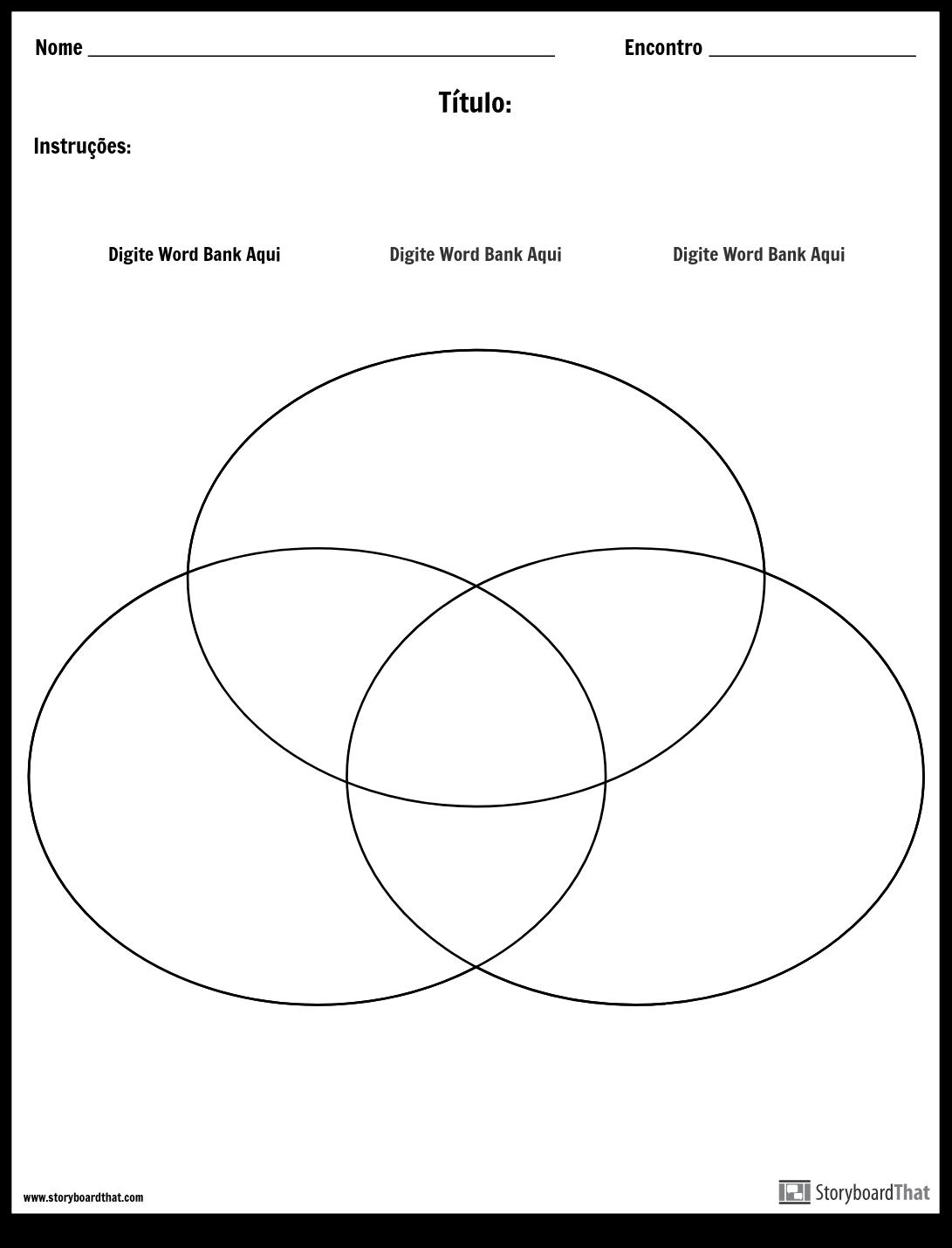 Diagrama de Venn - 3 Storyboard por pt-examples